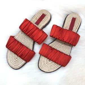 Mercedes Castillo Espadrille Slip On Sandals